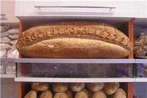 Dev ekmek yapıp dağıttılar.12662