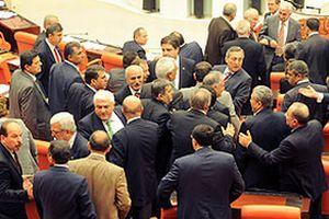 Meclis'te DTP ve CHP'li vekillerin küfürlü tartışması!.20459