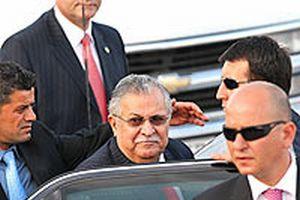 Irak Cumhurbaşkanı Celal Talabani Ankara'da.14765