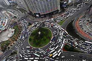 Çin trafik sorununu çözmeye söz verdi.26004