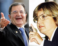 İlginç iddia: Çiller, Prodi'nin kravatından tutup 'seni boğarım' demiş  .10947