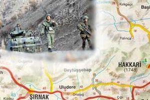 Şırnak, Hakkari ve Siirt illeri geçici güvenlik bölgesi.16425