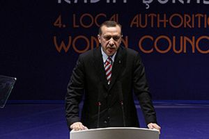 Erdoğan: Cinsiyet ayrımcılığı ırkçılıktan daha ilkel.9382