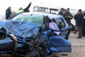 Trafik kazas� ayn� aileden 6 ki�iyi yok etti.14012