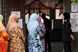 Malezya'da iktidar kabus yaşıyor.15323