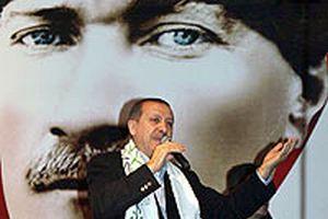 Erdoğan mitinge kaşkolsuz çıktı.12611