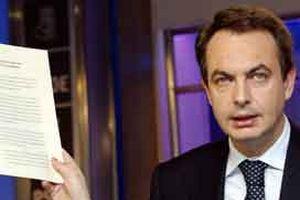 İspanya'da sandıklar Zapatero'dan yana.10340