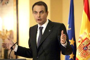 Zapatero, tek partili hükümetten yana.12252