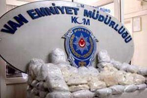 Van'da uyuşturucu tacirlerine darbe.13738
