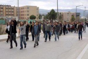 Uludağ Üniversitesi'nde provakasyonlar devam ediyor.12894