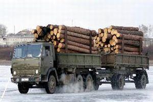Çin ve Rusya'yı buz otoyol birbirine bağlıyor.13876