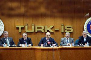 TÜRK-İŞ, Bakan Çelik'in açıklamalarını yalanladı.12679
