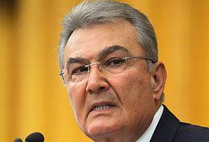 CHP lideri Deniz Baykal, 'rejim tehlikede' vurgusu yapt�.10709