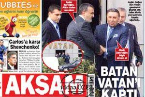 Akşam gazetesi Vatan'ın Doğan'a satılmasını eleştirdi.22378