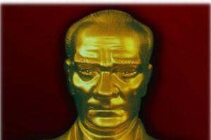 Atatürk büstüne çirkin saldırı.7354