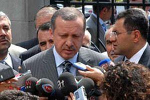 Başbakan Recep Tayyip Erdoğan'ın ilk sözleri.15884