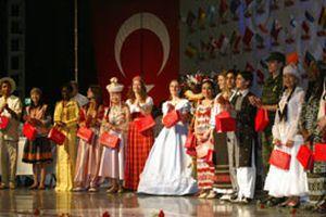 Türkçe Olimpiyatları'ndan önceki 'kültür buluşması'.16733