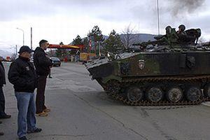 Kosova'da tansiyon yüksek.12447