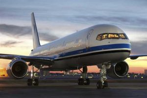 Lufthansa uçağı büyük tehlike atlattı.10855