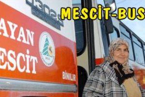 Mescit olarak kullanılan bir otobüs, laikliği 'tehdit etti'.16832