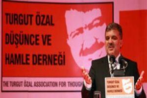 'Turgut Özal Demokrasi Ödülü' Abdullah Gül'e verildi.11893
