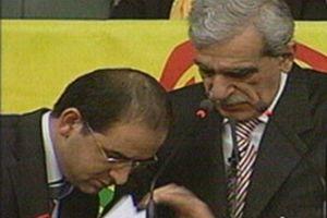 Ahmet Türk konuşmasını yarıda kesti.11479