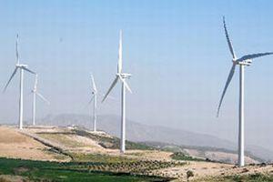 Yerli rüzgar tribünü için ilk harç.8941