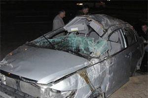 Manisa'da feci kaza: 1 ölü, 4 yaralı.12027