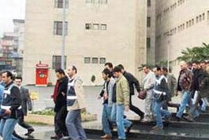 Şanlıurfa'da 117 kişi gözaltına alındı.14701