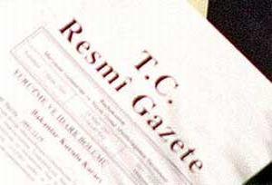 Bakanların görevleri Resmi Gazete'de.9912