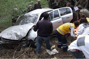 Trabzon'da kaza: 4 yaral�.17989