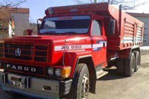 Buğday yüklü kamyon ve şoförü kayboldu.15285