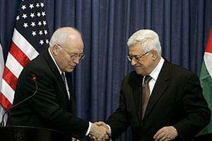 Cheney'den Abbas'a Filistin sözü.13329