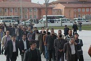 Konya'da 30 kişi gözaltına alındı.17753