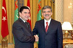 7 yıl sonra bir Türkmen cumhurbaşkanı Ankara'da.14227