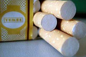 5 bin 400 paket kaçak sigara ele geçirildi.11272