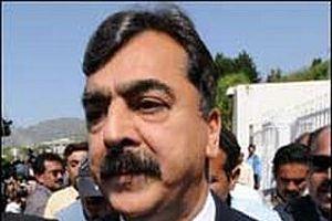 Pakistan'ın yeni başbakanı göreve başladı.13814