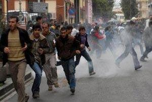 Nevruz olaylarında 6 tutuklama .14565