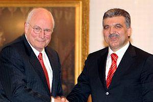 Cheney: Bush'un emriyle geldim.12016