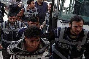 Gaziantep'te 14 PKK'lı tutuklandı.19655