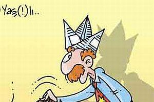 Vakit, ihtiyar Ergenekoncuları böyle karikatürize etti.13228