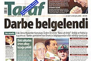 Taraf Gazetesi'nden şok iddia: