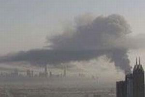 Dubai'de büyük patlama.5257