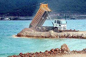 Denizin izinsiz doldurulması TBMM gündeminde.20320