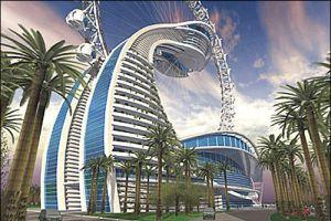 Abu Dabi'de sıradışı bir otel.22090