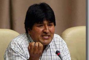 Bolivya Devletin'de hükümet iş başı yaptı.10036
