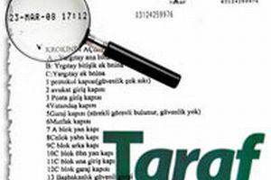 Taraf Gazetesi'nden Güneş Gazetesi'ne yalanlama.11042