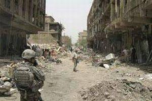 Bağdat'ın merkezine roket saldırısı.15508