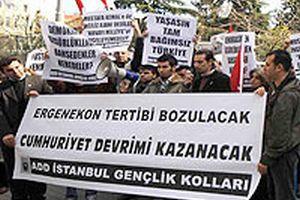 ADD, Ergenekon'da tutuklananları vatansever ilan etti.21722