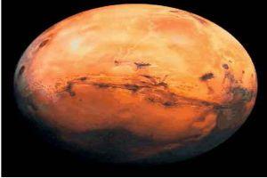 Kızıl gezegen yok oluyor.9241